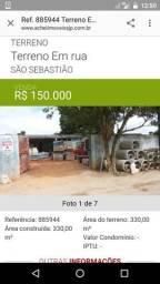 Vende se terreno em São José dos Pinhais, no borda do campo