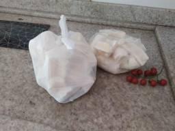 Mandioca Amarelinha já descascada e congelada
