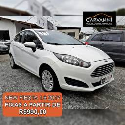 Ford New Fiesta Hatch 1.6 SE - Completo - 2017
