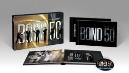 Coleção Original Blu-Ray BOND 50 Novo - 22 filmes de 007 - Box Raro de Colecionador