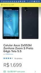 Celular modelo ZE553KL