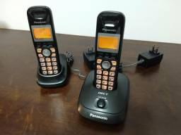 Telefone panasonic sem fio dect 6.0 110v - kx-tg4011lbt