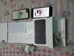 Iphone 7 32Gb Completo Caixa Todos Acessórios funcionando tudo Pego Iphone 6s PC Gamer Ps4