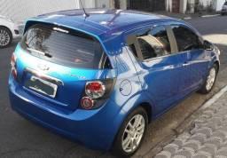Gm - Chevrolet Sonic LTZ Automático + Couro - 2012