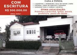 Casa a venda em Itaguaçu. Ótima localização. Rua Antônio Coelho - Centro