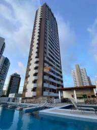 Apartamento com 3 dormitórios para alugar, 105 m² por R$ 3.000/mês - Lagoa Nova - Natal/RN