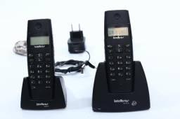 Telefone Sem Fio Intelbras Com Ramal Ts40c Telefone+ramal - tem conversa