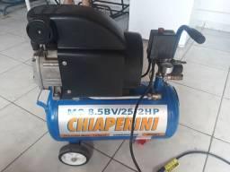 Compressor de ar chiaperini mc 8.5 BV/25-2HP
