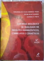 Livro controle biológico de qualidade de produtos farmacêuticos... 4° edição