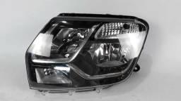 Título do anúncio: Farol Renault Duster Oroch original lado esquerdo máscara negra