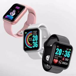Smartwatch Relógio D20 PRO Y68 /Bluetooth/USB/Monitor Cardíaco/NOTIFICAÇÕES