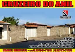 Vendo pequeno sítio no Cruzeiro do anil | 1.000m² | Lei a descrição
