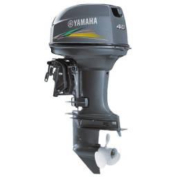 Motor yamaha 40hp 2 tempos para lancha NOVO