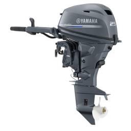 Motor yamaha 25hp 4 tempos novo