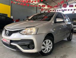 Etios Sedan XS 2018 Aut. É Na Macedo Car!!!