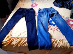 2 Calças Jeans Marca PUC