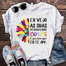 Título do anúncio: Camisetas AUTISMO