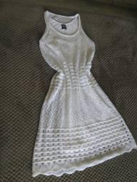 Vestido de tricô de lã ( Hering) tamanho M/M
