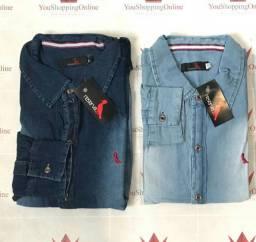 camisa jeans em atacado