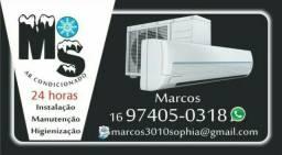 Serviços em ar condicionado e elétrica Limpeza a partir de 100,00 Reais