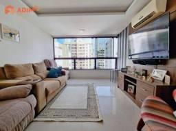 Apartamento á venda no Centro de Balneário Camboriú, com 03 dormitórios, mobiliado, sacada