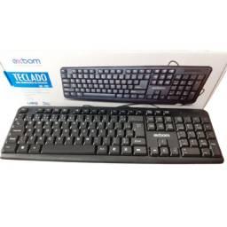Teclado básico para computador/notebook Exbom BK-102