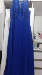 Vestido de festa ou formatura Azul longo - TAM G