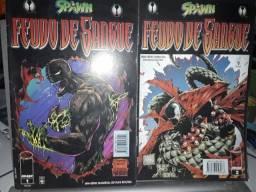 Revista Spawn Feudo de Sangue
