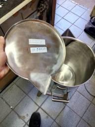 Balde de inox industrial 25 litros