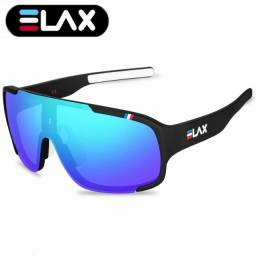 Óculos Ciclismo Com Proteção Uv 400 Mtb Esportes Elax