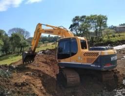 Escavadeira (PARCELAMENTO ÓTIMO E ENTRADA MÍNIMA)
