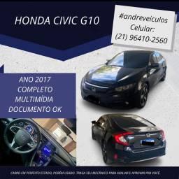 Civic g10 com gnv trocaria também