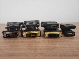 Adaptadores de Vídeos - DVI, HDMI, VGA e Display Port