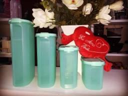 Kit Modular Oval verde mint Tupperware