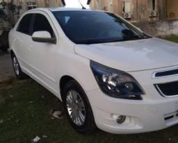 GM Cobalt 1.8 LTZ Branco Automático GNV