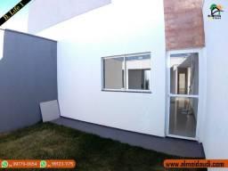Casa Nova Bairro Life 1 (São Jorge) 2/4 sendo um Suite projeto Moderno R$200.000,00