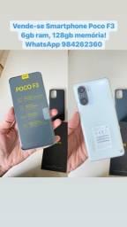Smartphone Xiaomi POCO F3 6gb ram 128gb memória, lançamento !!