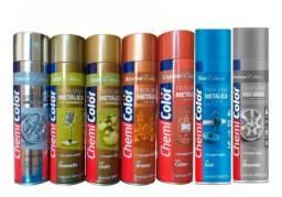 Título do anúncio: Tinta Spray Metálica 400 Ml - Chemicolor