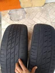 2 pneus riscados aro 16
