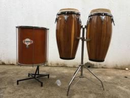 Instrumento percussão Congas e surdo!