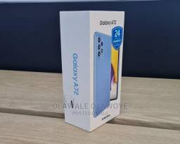 Belíssimo lançamento Smartphone Samsung Galaxy A72 Azul Lacrado 128GB 4G