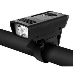 Lanterna farol para bicicletas com carregamento via USB