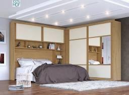 Dormitório 100%MDF (Parcelamos no Boleto S/Entrada))