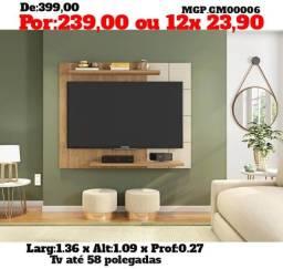 Painel de televisão até 58 Poelgada- Painel de TV- Grande- Saldão MS
