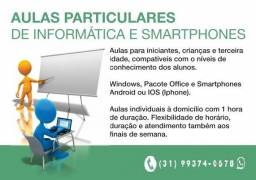 Título do anúncio: Aulas de Informática e Smartphones