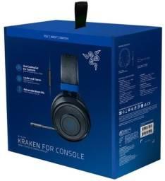 Headset Gamer Razer Kraken para Consoles - PS4 / XBOX/ Switch - Novo - Loja Física