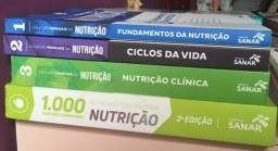 Nutrição - Livros: Kit 1 e Kit 2