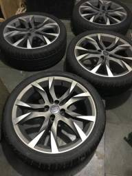 Rodas Scorro aro 18 com pneus meia vida