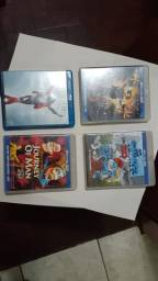 04 Dvd Blu-ray Originais
