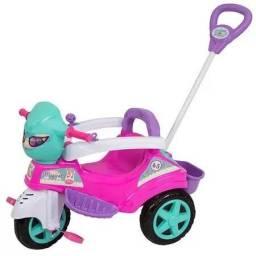 Carrinho De Passeio Ou Pedal Triciclo Baby City
